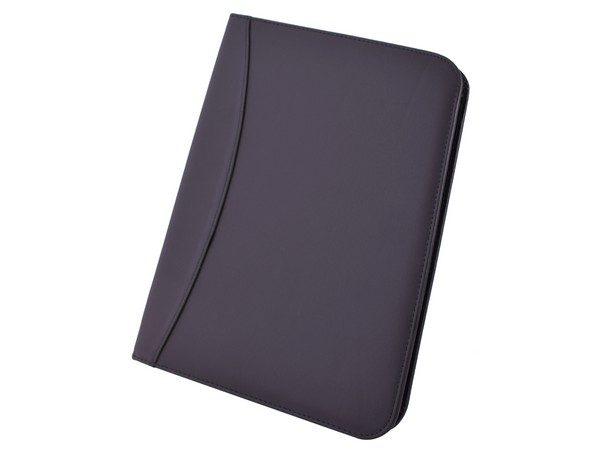 branded leather folders